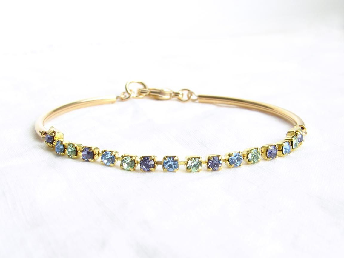 etsy swarovski bracelet jewelry inspirational