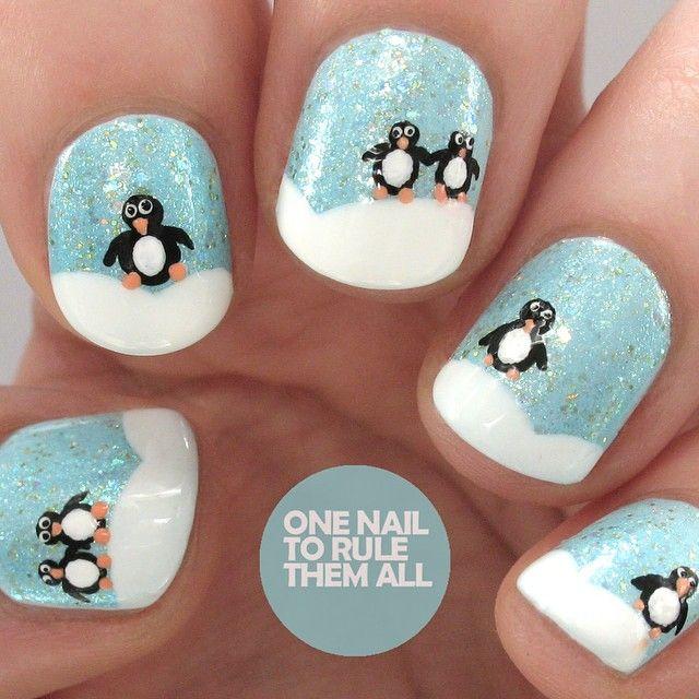"""Penguin snowscape for @beautyattesco"""