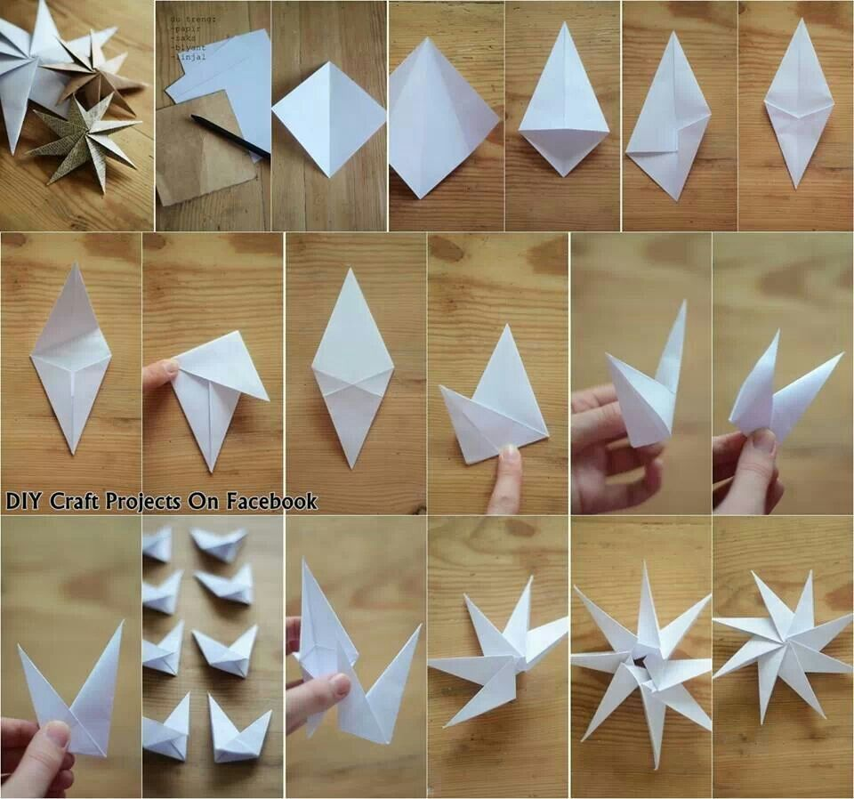 Origami Snowflakes Origami Pinterest Origami Christmas And
