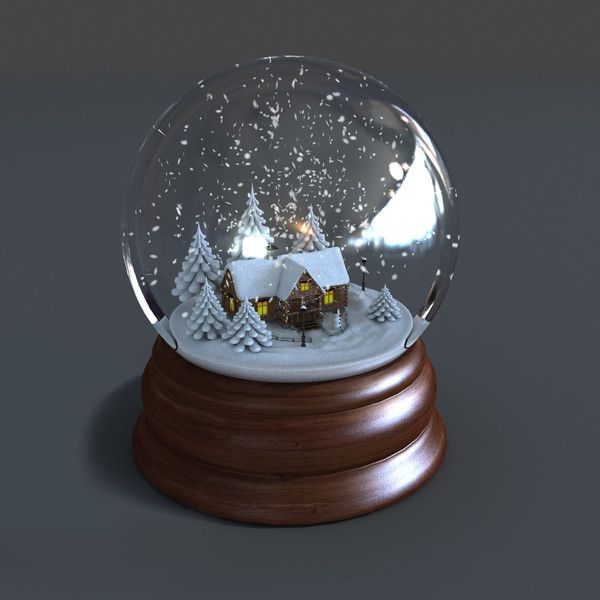 3d Model Of Snow Globe Animations Snow Globe Animated Winter By 3d Multimedia Snow Globes Christmas Snow Globes Winter Snow Globe