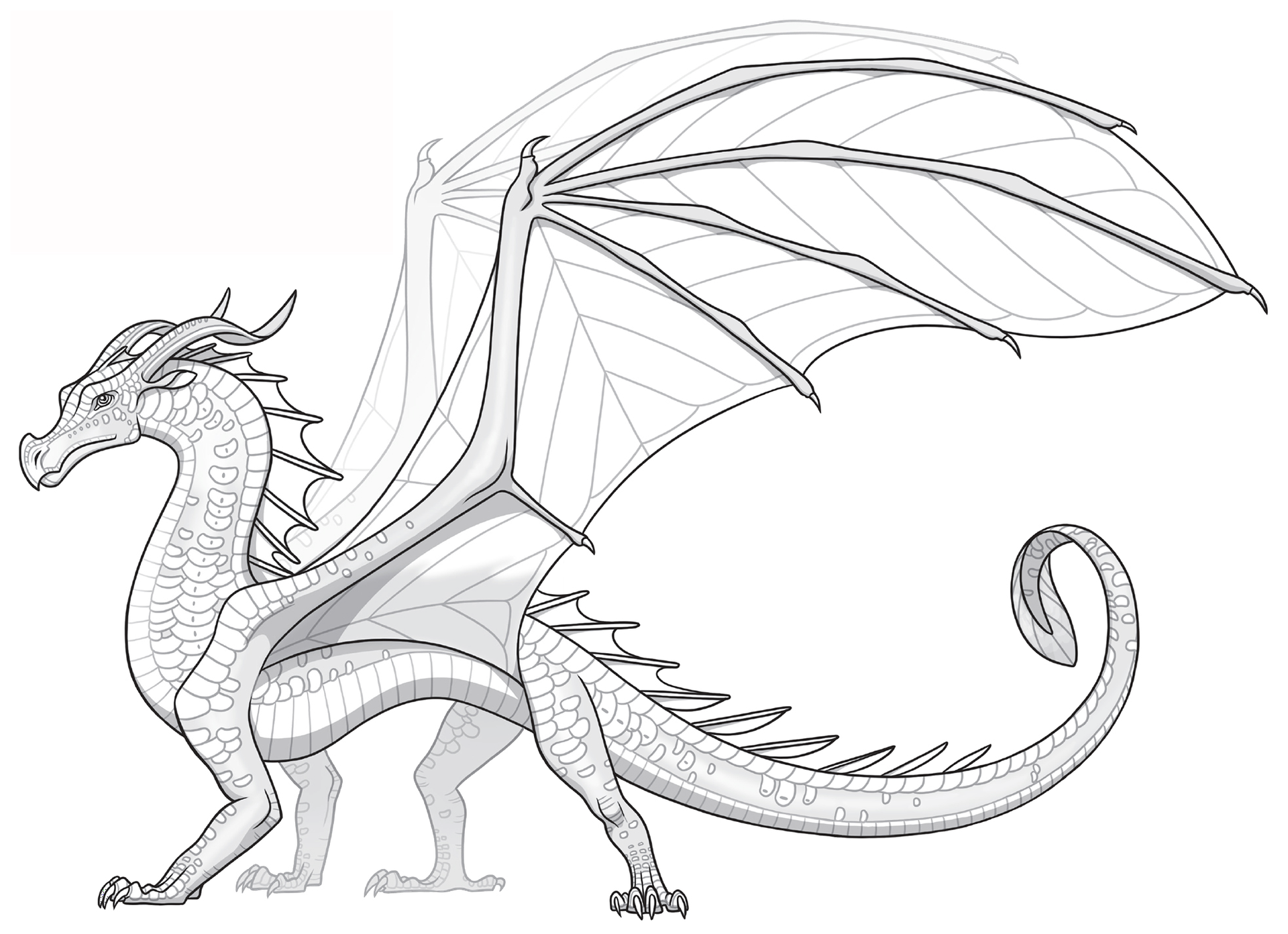 Wings of Fire Color Edits (COMPLETE) - Requests + Original Line