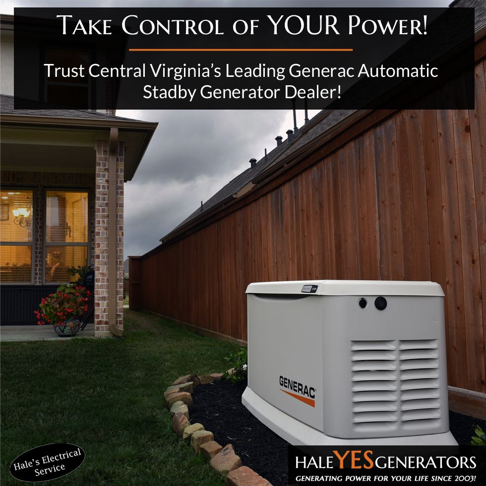 Get a FREE InHome Assessment for a Generac Generator