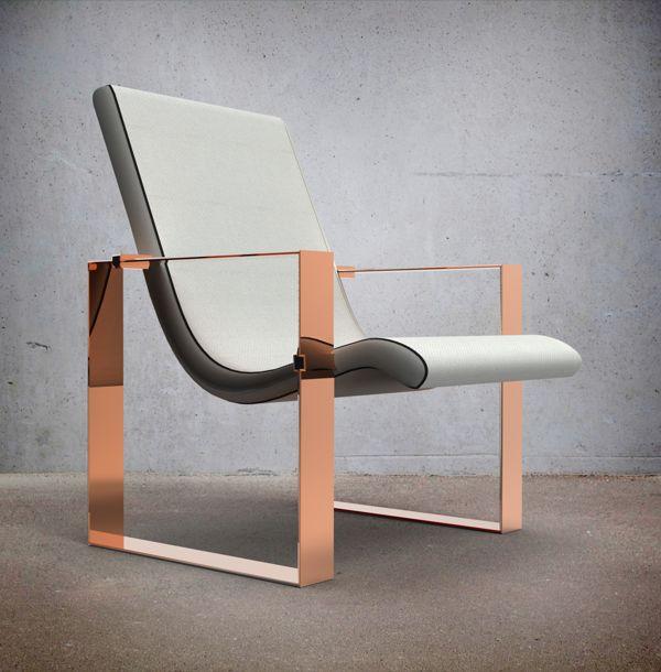 BONNIE Lounge Chair By VENTURY DESIGN LAB , Via Behance