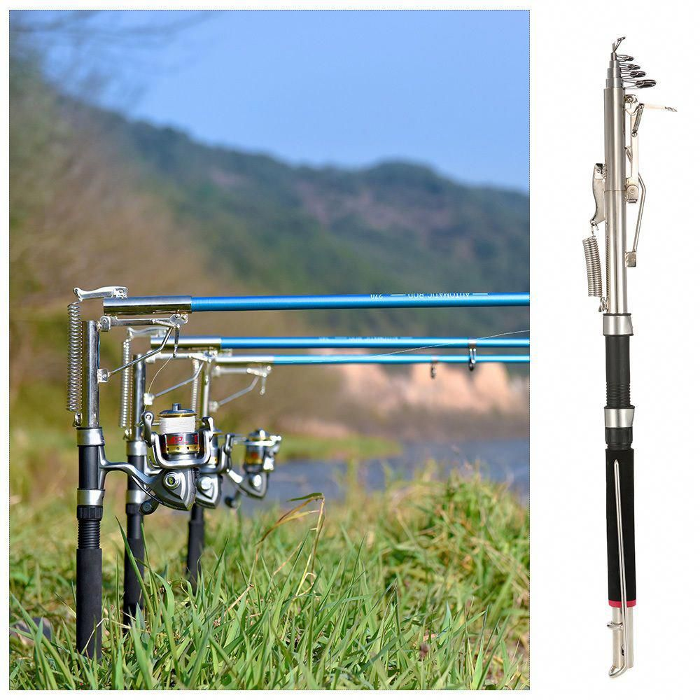 Stainless Steel Automatic Fishing Rod Fish Pole Device for Sea River Lake