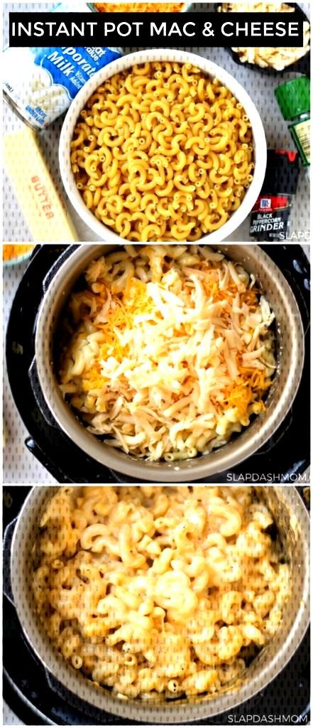 The Best Instant Pot Mac and Cheese Pot#Cheese#Dinner
