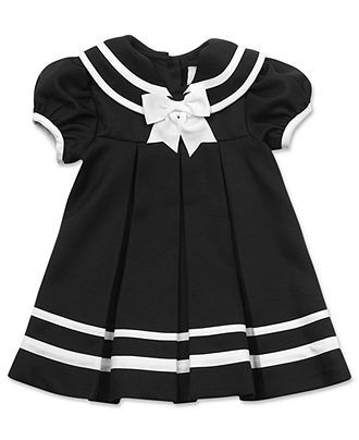 e9d4355719f92 Rare Editions Baby Dress, Baby Girls Nautical Sailor Dress with Hat - Kids  Baby Girl (0-24 months) - Macy's