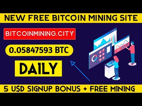 New Free Bitcoin Mining Website 2020 I New Free Bitcoin Cloud Mining Website I Bitcoinmining.city