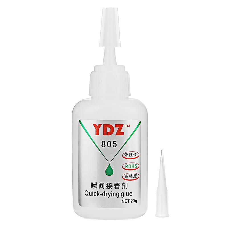Ydz 805 20g Super Instant Glue For Leather Metal Funiture Quick Drying Adhesive Repair Kit Adhesive Quick Dry Metal