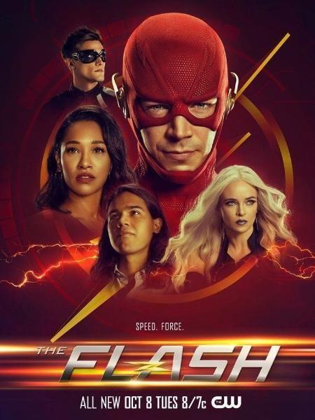 The Flash 6ª Temporada Ganha Poster Mostrando Novo Visual Do