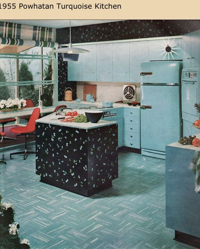 retro kitchens 1950s | Retro Kitchen 1955 | 1950's Era ...