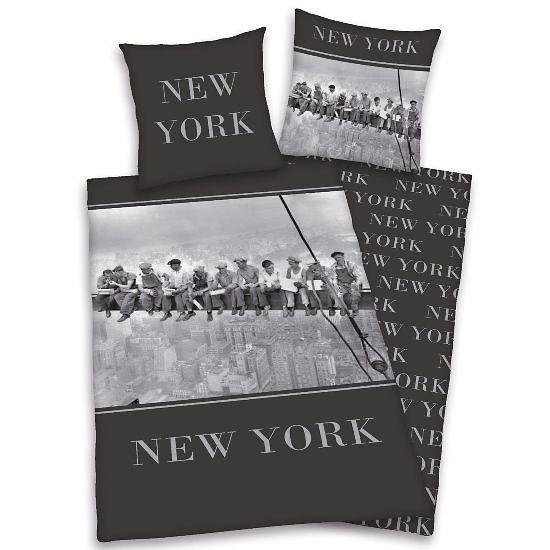 Housse De Couette Et Une Taie D Oreiller New York Gratte Ciel Avec Images Taie D Oreiller Housse De Couette New York