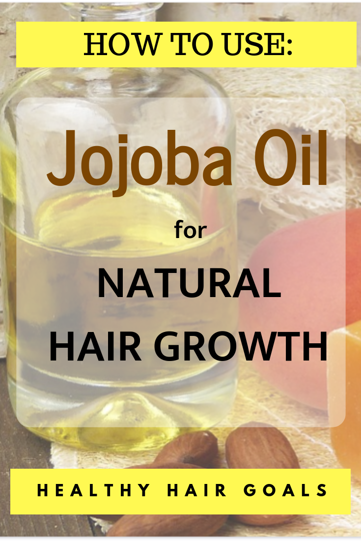 Jojoba Oil for Natural Hair Growth and Thinning Hair
