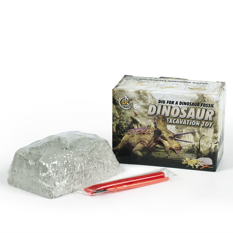 Educatioanal science excavation dig it out dinosaur set for