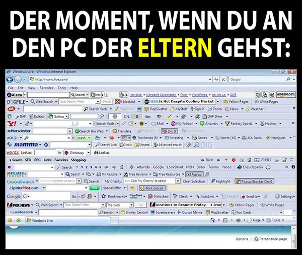 PC_der_Eltern.jpg | Witze | Pinterest | Lustiges, Lustige ...