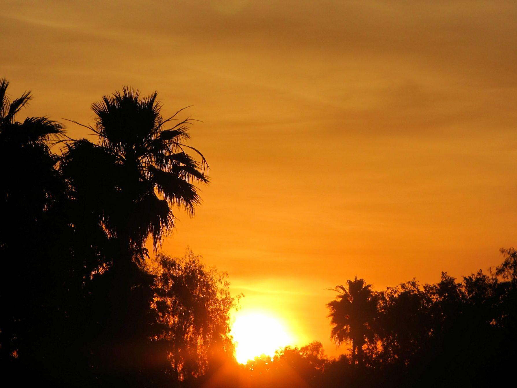 First rays! Chandler, AZ 05/17/2014