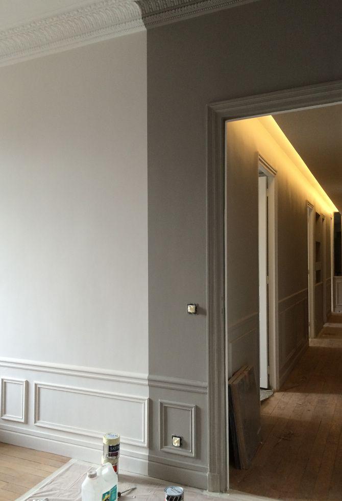 Appartement de 160m2 - Paris 16e - Charlotte Vauvillier - architecte - Peindre Fenetre Bois Interieur