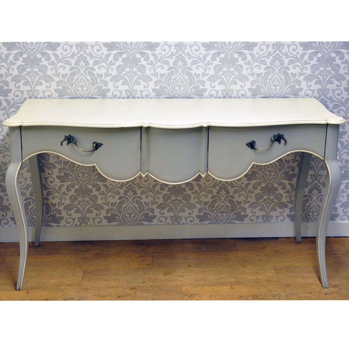 Light Grey French Style Mahogany Sideboard