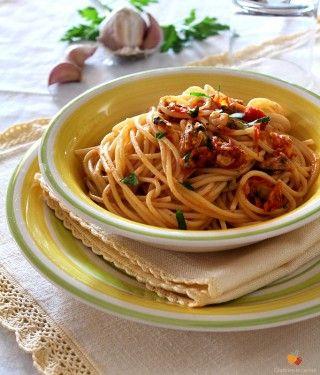 Spaghetti Alla Marinara Ricette Ricette Di Pasta Idee Alimentari