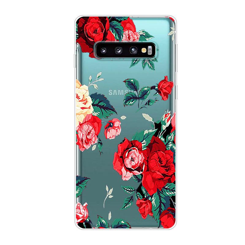 For Samsung Galaxy S10 Plus Case Silicone TPU Soft Phone Case For Samsung Galaxy S10 Plus Galaxys10 Lite S 10 S10e Case Capa