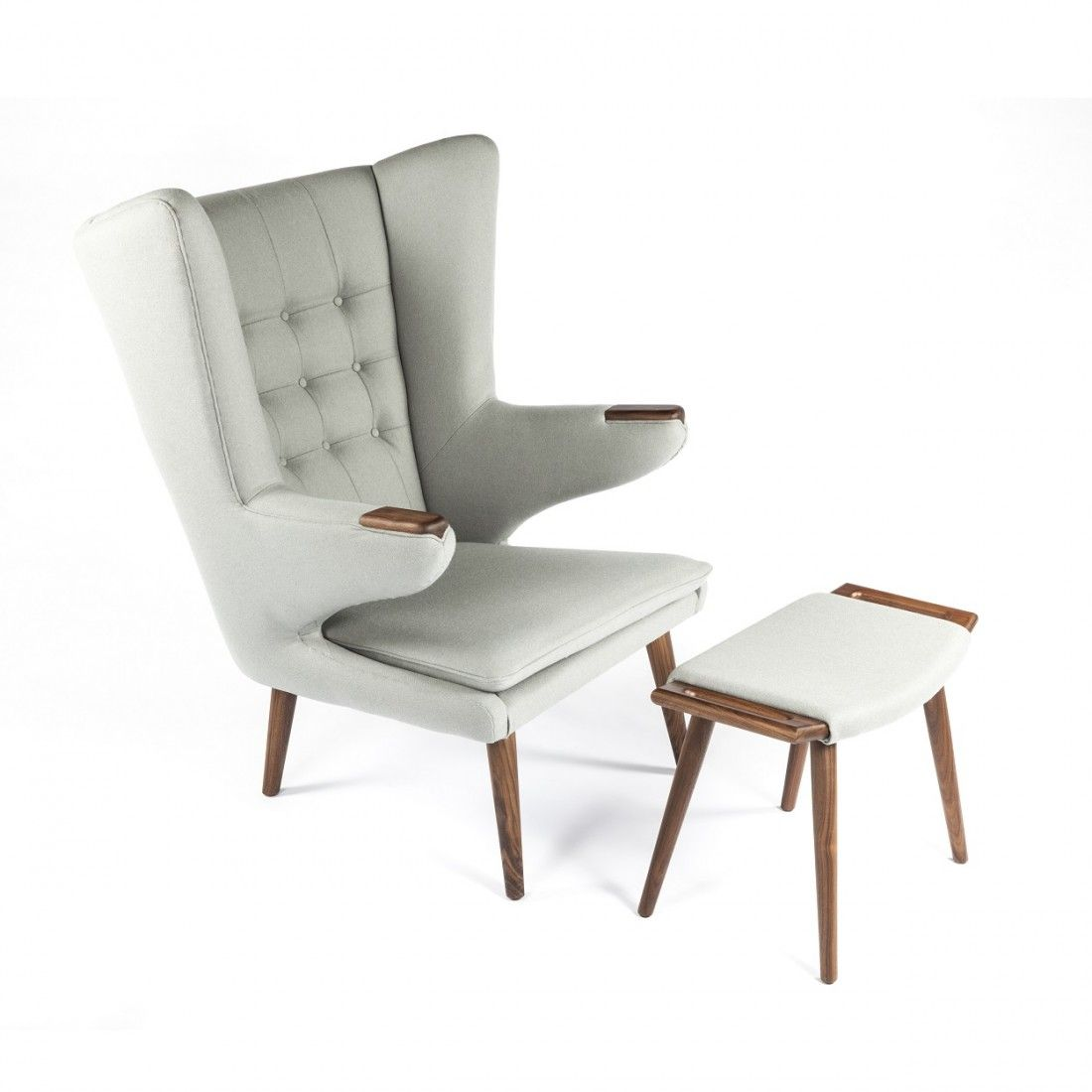 Hans Wegner, PP19 Teddy Bear Chair And Ottoman