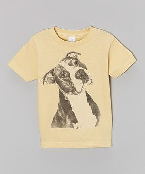 Another great find on #zulily! Butter Sweet Pitbull Tee - Toddler & Boys by Micro Me #zulilyfinds