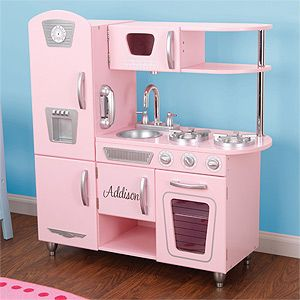 Personalized Kitchen Playset for Kids - Pink | For my ...