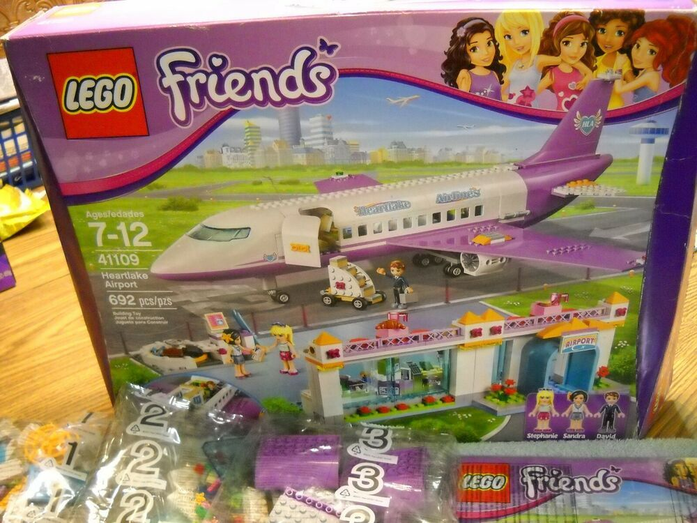 Lego Friends Heartlake Airport 41109 Includes 7 Unopened Bags