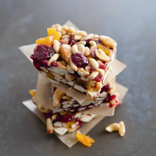 Chewy Fruit Nut Bars Williams Sonoma Taste Fresh Fruit Recipes Fruit And Nut Bars Snacks
