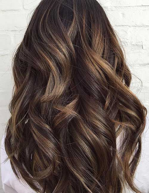 Long Hairstyles And Color 25 Balayage Hairstyles For Black Hair  Pinterest  Balayage