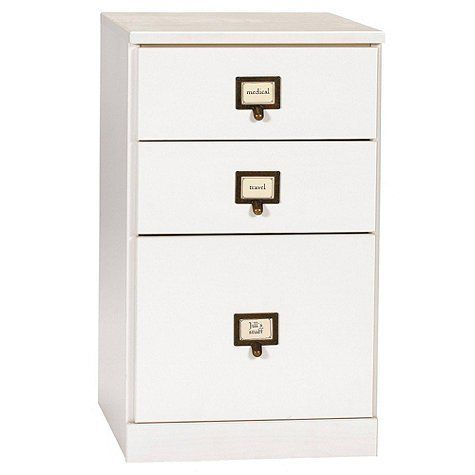 Original Home Office 3 Drawer File Cabinet Black  Ballard Designs By  Ballard Designs.