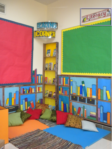 Ks2 Classroom Reading Corner Photo Sparklebox Reading Corner