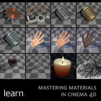 Cinema 4D Training - learn  Mastering Materials Part 1