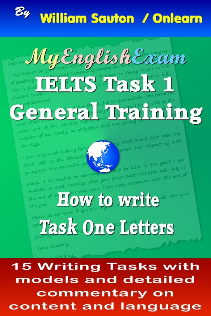 This book which provides practice in how to write Task One