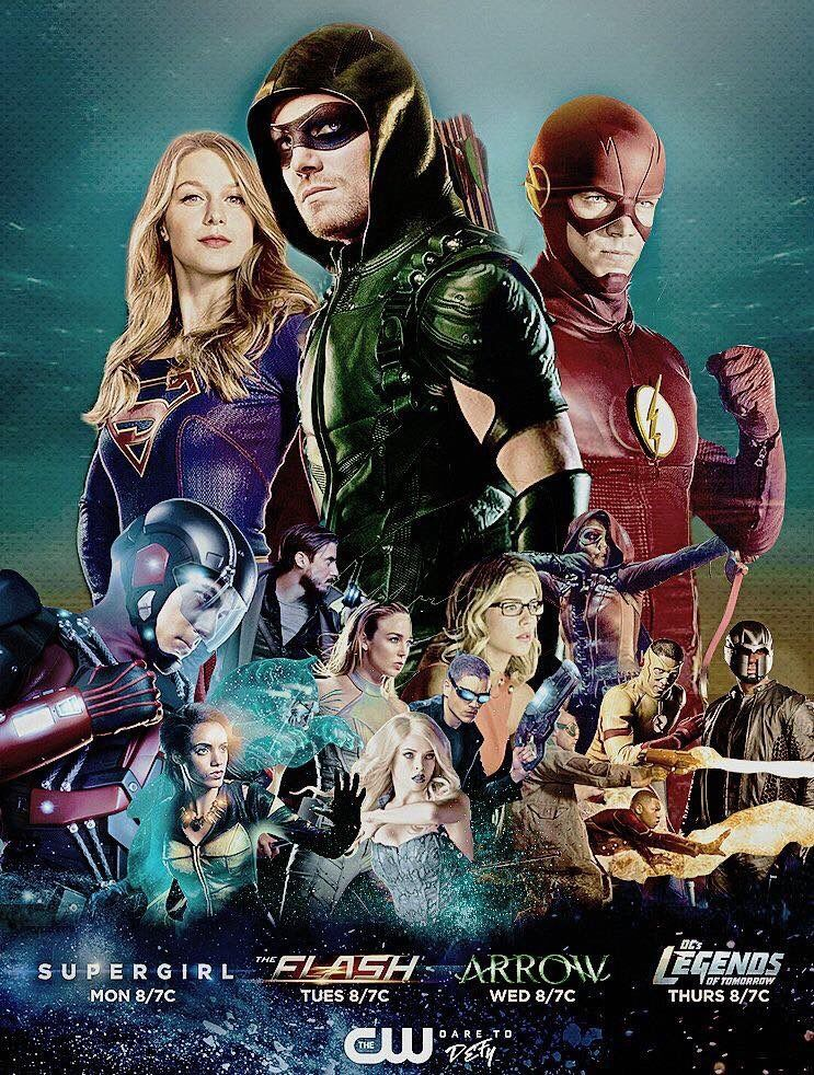 Hashtag Arrow Sur Twitter With Images Supergirl And Flash
