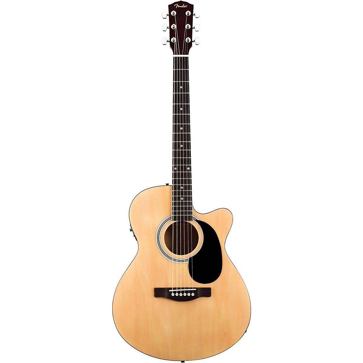 Amazon Com Fender Fa135ce Concert Acoustic Electric Guitar Natural Musical Instruments Best Acoustic Electric Guitar Acoustic Electric Guitar Guitar
