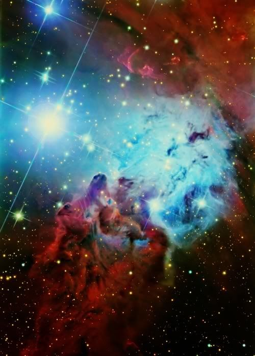 Fox Fur Nebula. I wish I could see this stuff with my own eyes.