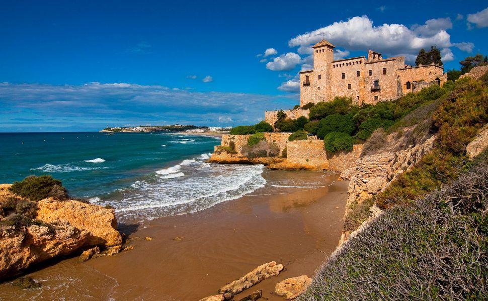 Spain Hd Wallpaper Beach Wallpaper Formentera Beautiful Castles