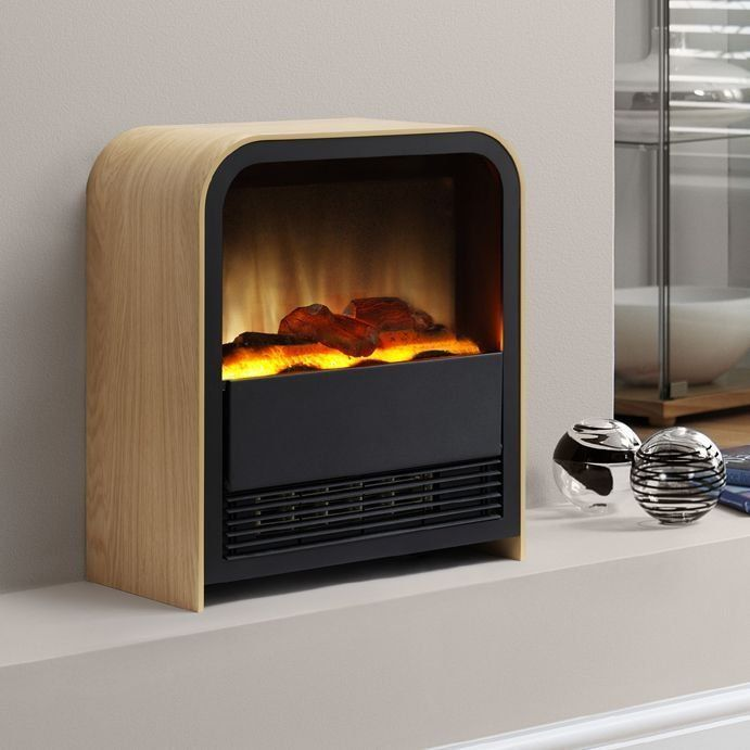 Electric fireplace heater and Fireplace heater