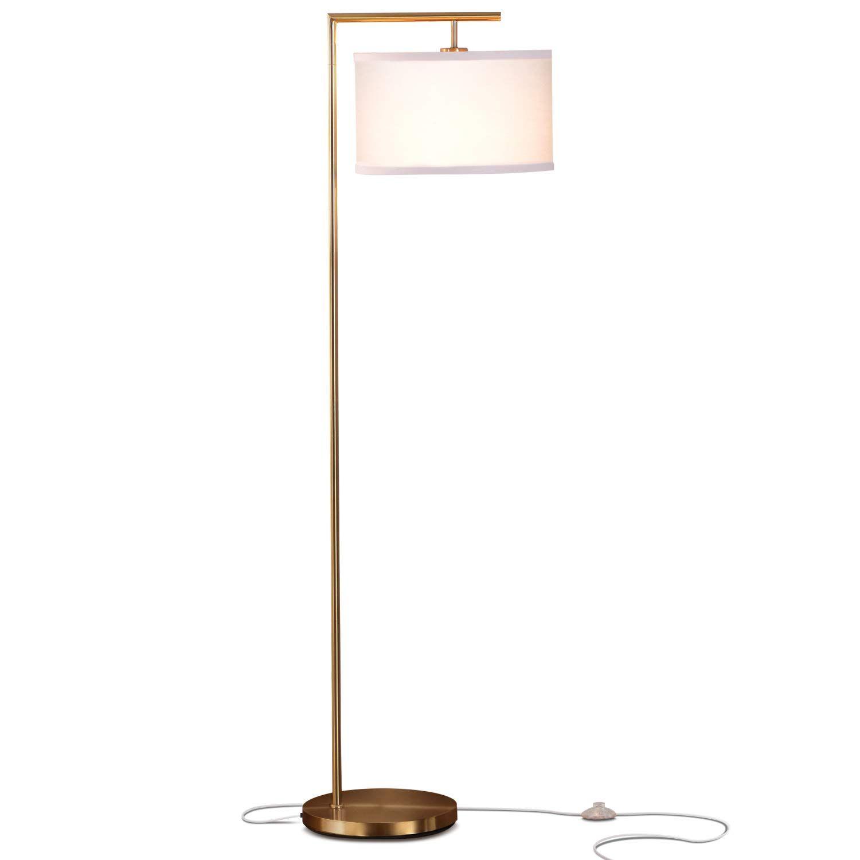Brightech Montage Modern LED Floor Lamp Living Room Light
