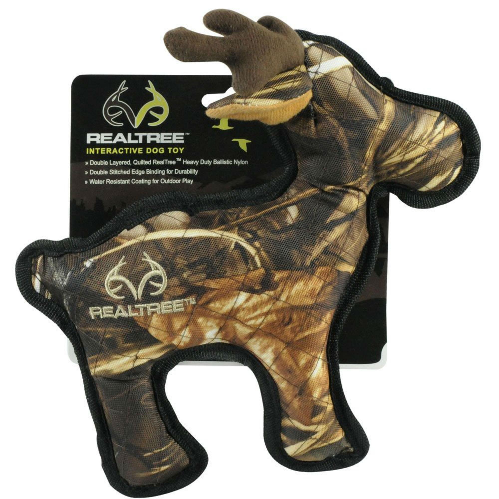 Info's : RealTree Camo Tough Dog Toy - Moose