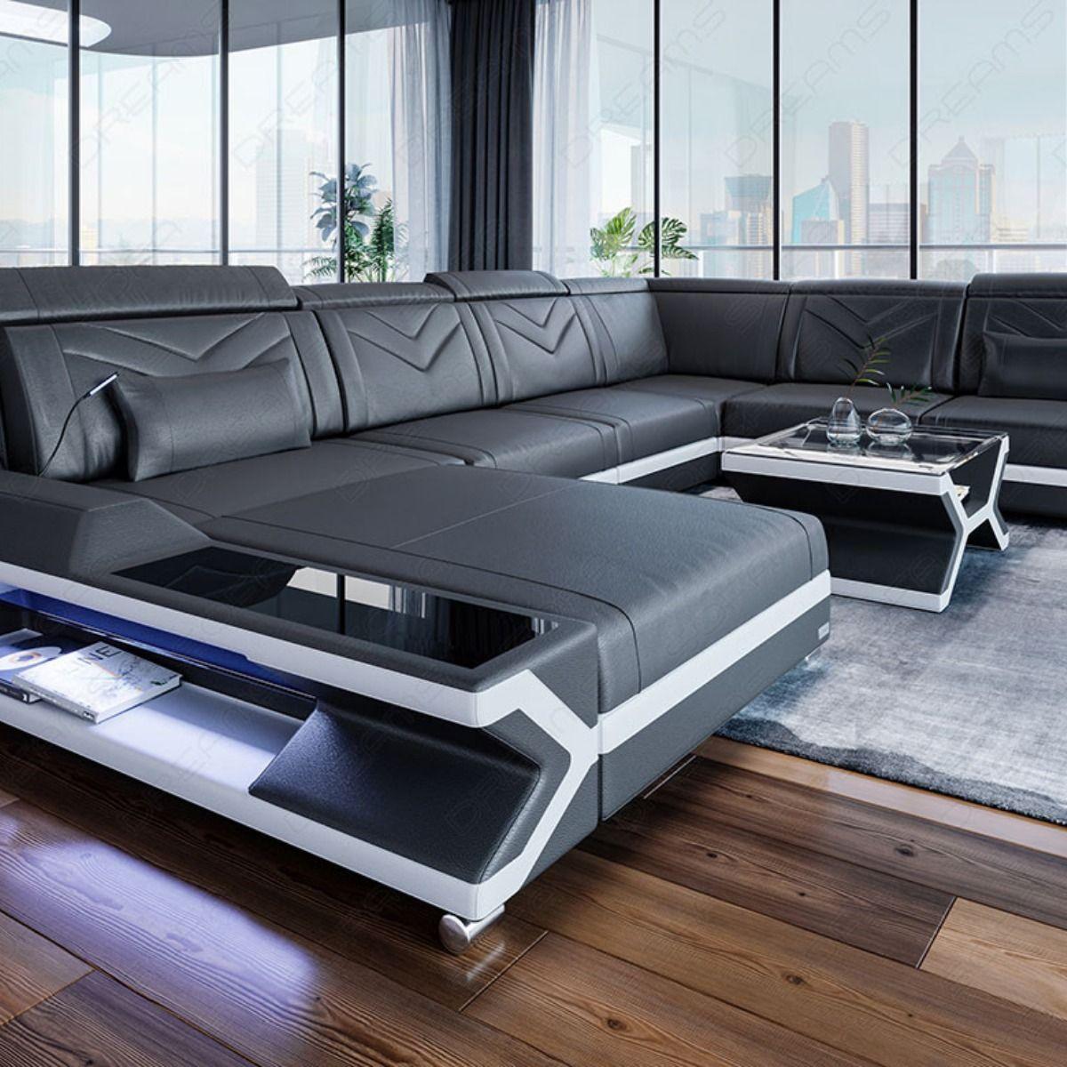 Xxl Wohnlandschaft Napoli Leder Luxury Couch Corner Sofa Design Sofa Design