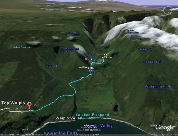 google earth hawaii