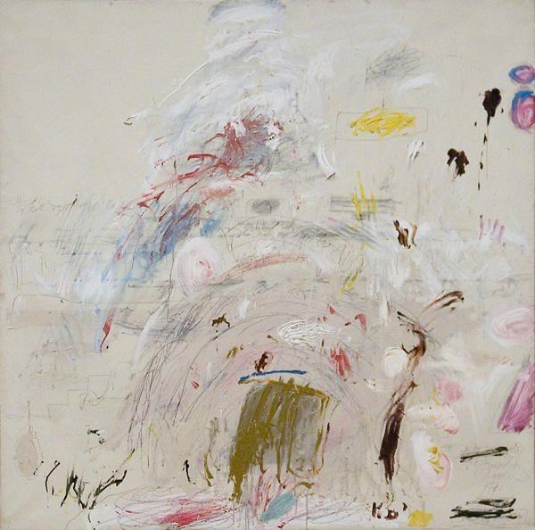 'schule von athen', 1961 von Cy Twombly (1928-2011, United States)