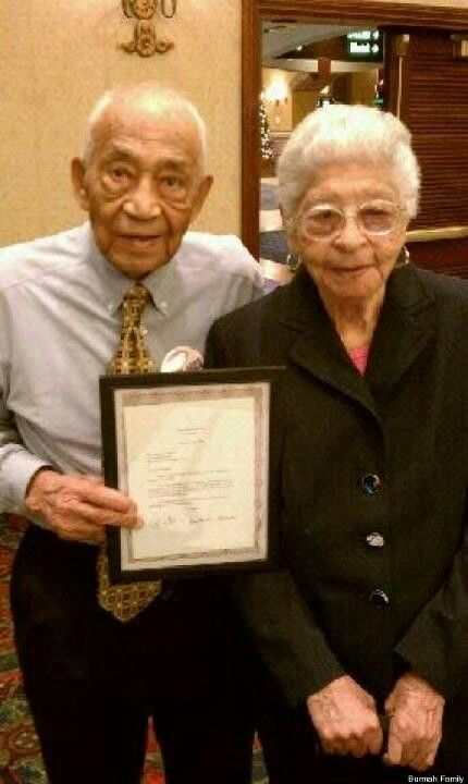 Norman and Normah 'Burmah' married 82 years! :)