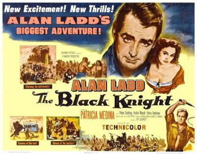Image result for ALAN LADD IN THE BLACK KNIGHT