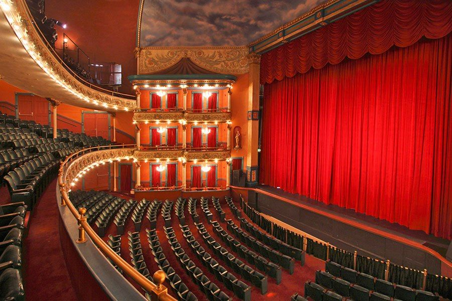 14 Historic American Theaters Historic Theater Architecture Opera House