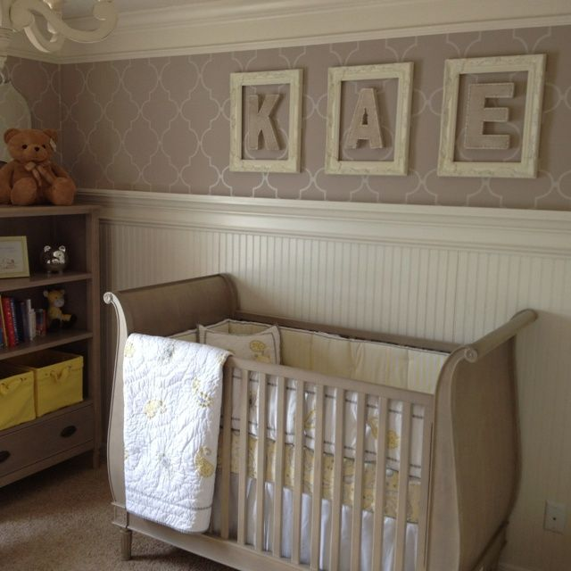 Love love love the beadboard annie 39 s baby shower pinterest nursery and babies for Beadboard ideas for living room