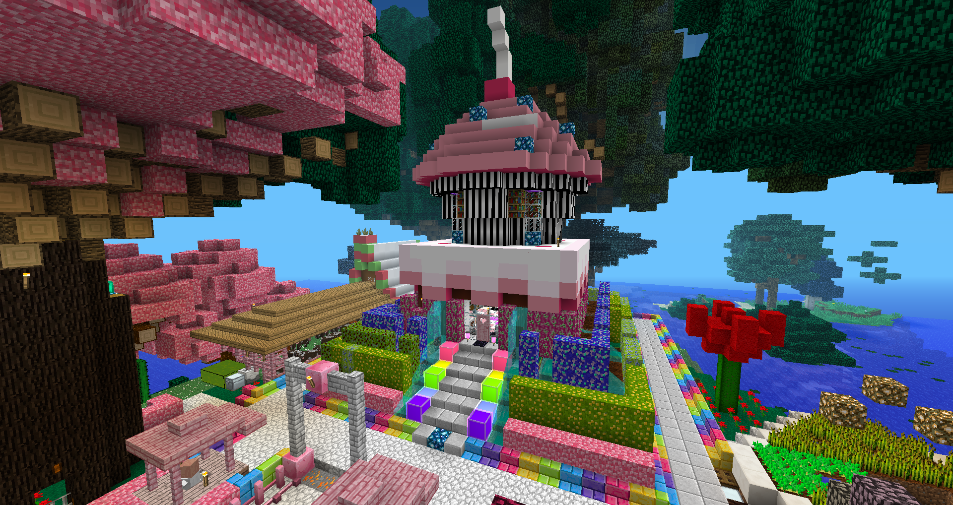 I Ve Made A Huge Mall In Minecraft But Nothing Like That One