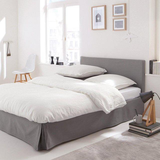 cache sommier toile coton bachette scenario la redoute mobile d co en 2019. Black Bedroom Furniture Sets. Home Design Ideas