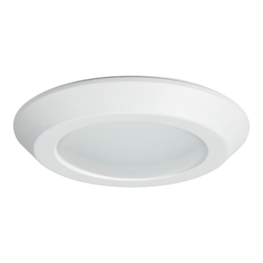Halo Bld 6 In White Integrated Led Recessed Ceiling Mount Light Trim At 3000k Soft White Bld606930whr The Home Depot In 2020 Recessed Ceiling Recessed Lighting Recessed Lighting Fixtures